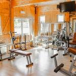 Ingresso area fitness