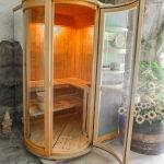 Sauna finlandese alle erbe