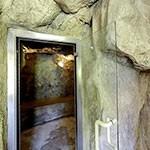 Bagno romano in grotta con aromaterapia