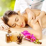 Massaggio rilassante schiena