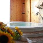 Bagno balsamico in vasca tracimante