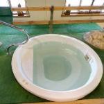 Bagno con idromassaggio sulfureo
